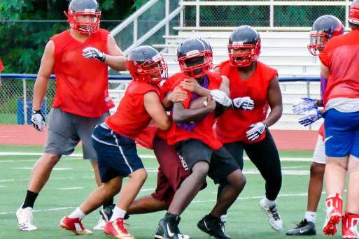 08.14.18 Schenectady High School Varsity Football Practice NYSPHAA - Section 2 https://capitalregionhssports.com