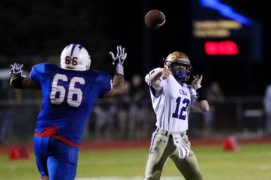08.31.18 CBA @ Saratoga High School Varsity Football NYSPHAA - Section 2 https://capitalregionhssports.com