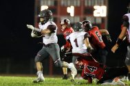 09.07.18 Stillwater @ Mechanicville Varsity Football NYSPHAA - Section 2 https://capitalregionhssports.com Stillwater - 26 Mechanicville - 6