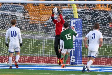 10.29.18 Schalmont vs Ichabod Crane Boy's Varsity Soccer NYSPHAA - Section 2 Class B Championship Schalmont - 4 Ichabod Crane - 3 https://capitalregionhssports.com