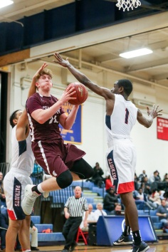 12.04.18 Burnt Hills Ballston Spa vs Schenectady High School Varsity Boy's Basketball NYSPHAA Section 2
