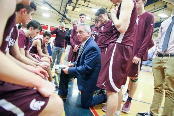 12.04.18 Burnt Hills Ballston Spa vs Schenectady High School Varsity Boy's Basketball NYSPHAA Section 2